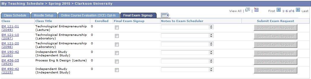 online course schedule maker